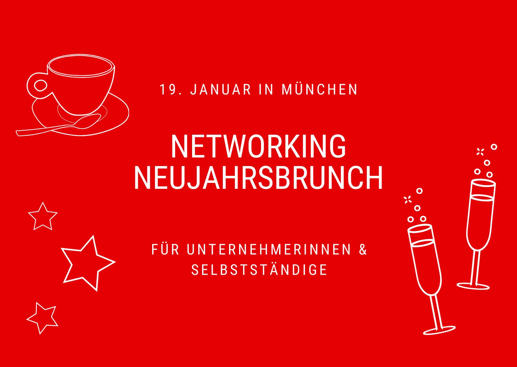 Münchner Neujahrsbrunch für Unternehmerinnen