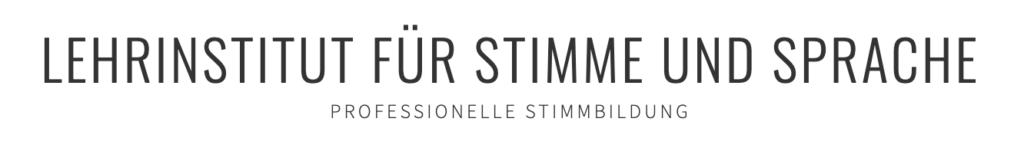 Logo Lehrinstitut für Stimme und Sprache Sylvie Polz
