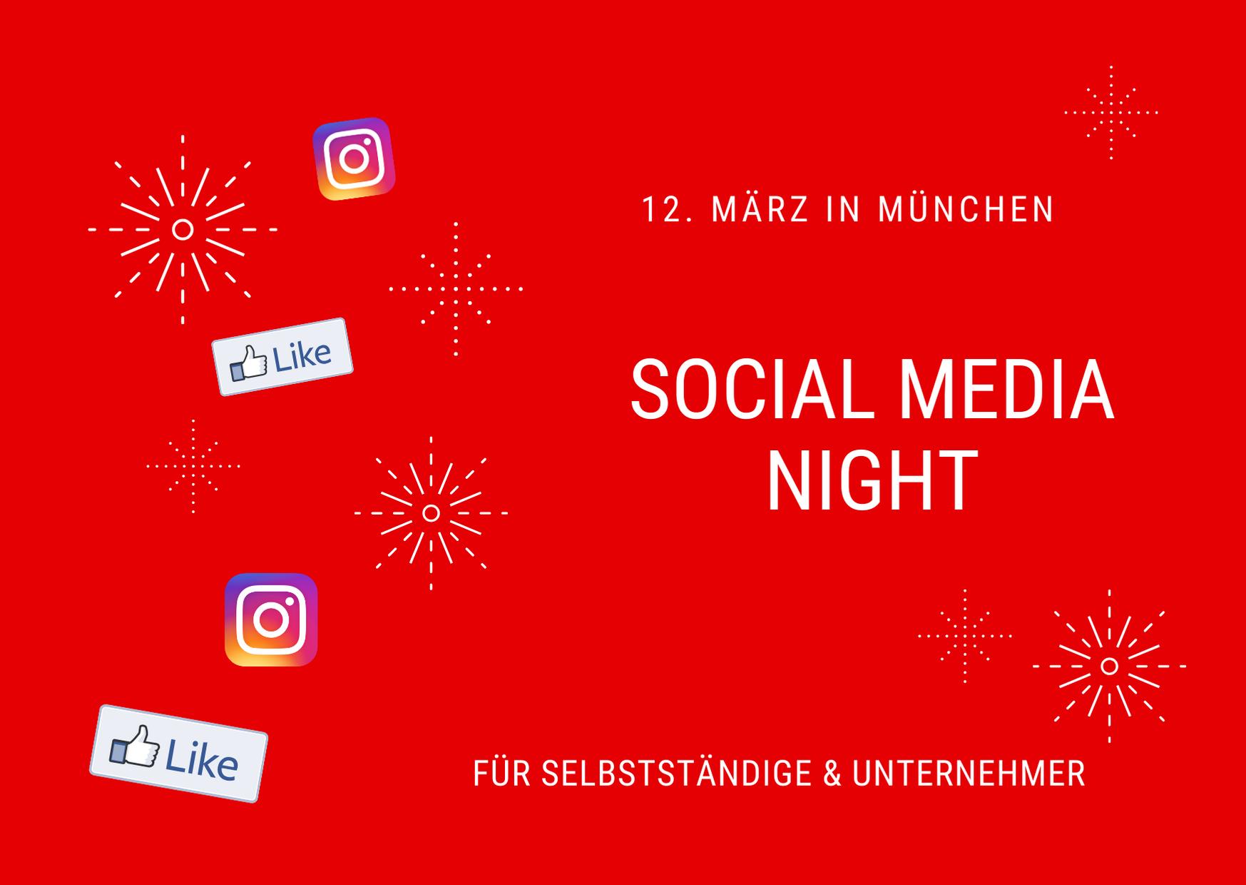 Social Media Night in München für Unternehmer