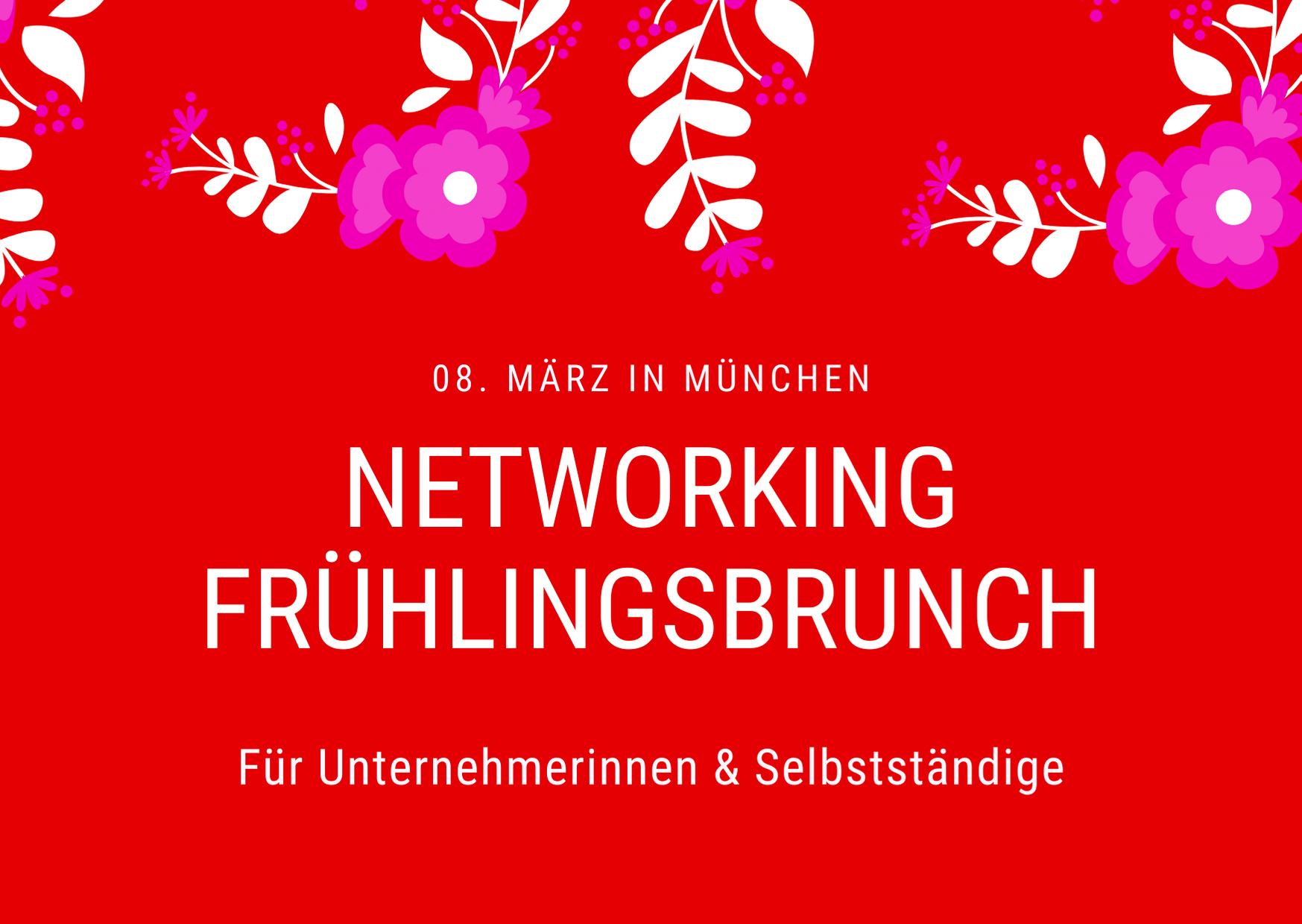 Networking Frühlingsbrunch für Unternehmerinnen