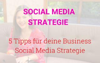 Business Social Media Strategie Tipps