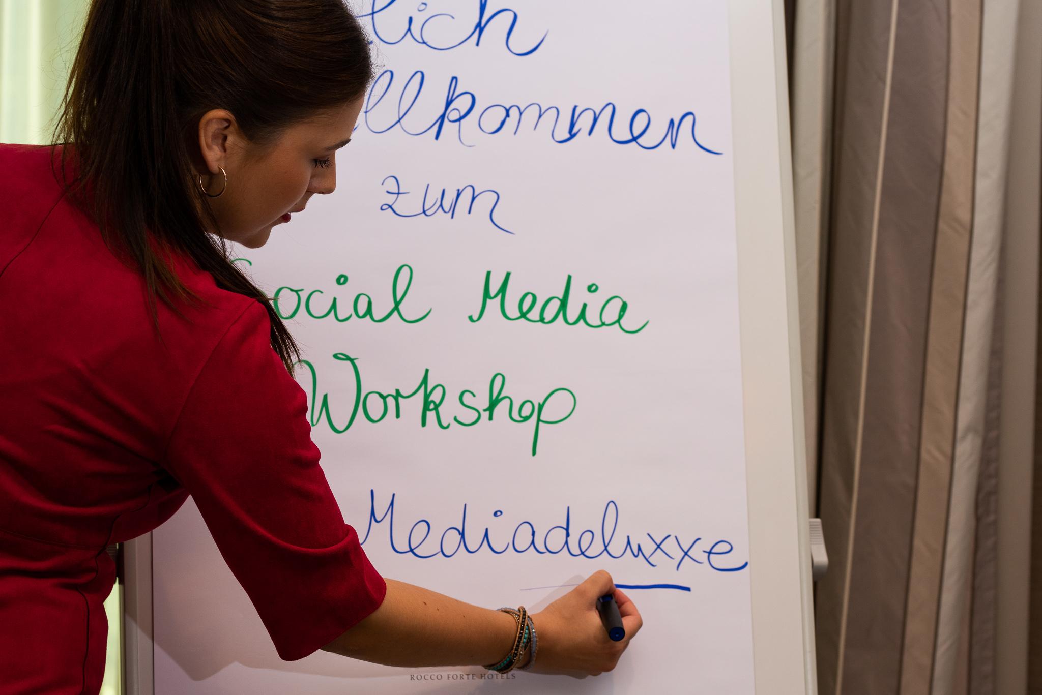 Social Media Onlineworkshop Mediadeluxxe