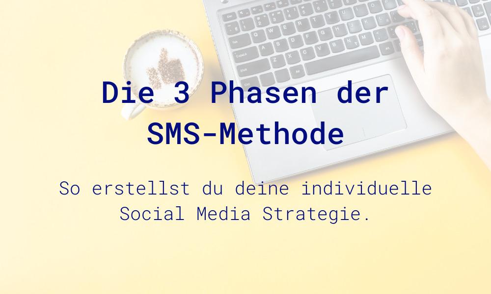 Social Media Strategie mit der SMS-Methode